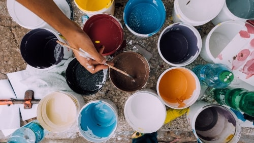 How many Paint Colors should I use in my home