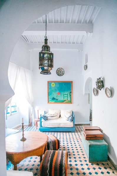 traditional interior style color scheme