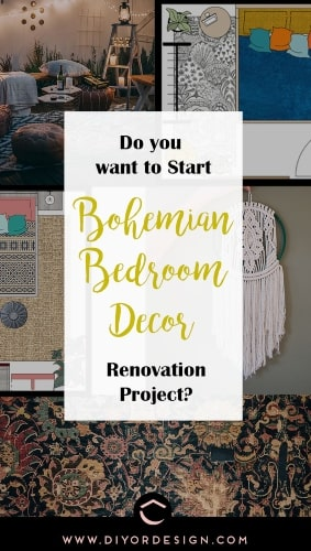 It is a perfect time to start your Bohemian style bedroom decor project that you have been dreaming for a long time.