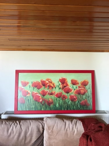 floral art work french country style