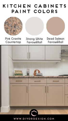 kitchen cabinets color combinations