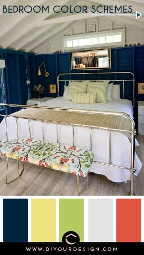 Bohemian style color schemes for bedroom