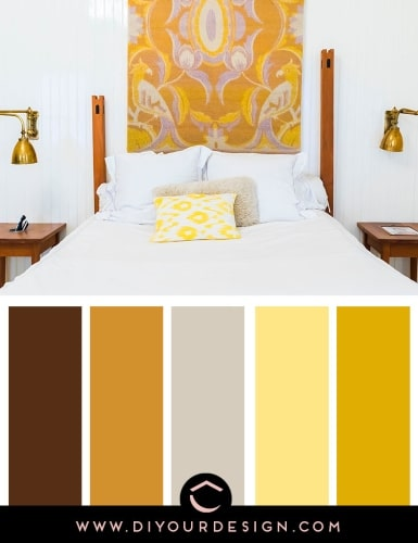 Color schemes for the bedroom