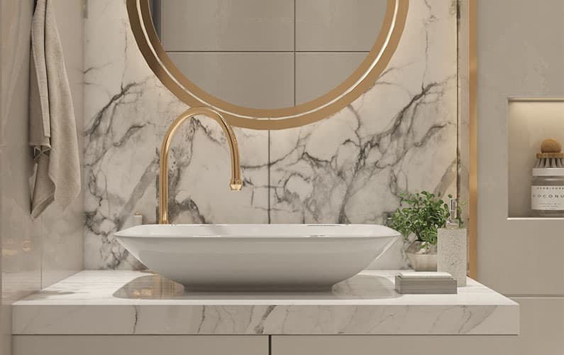 How to Mix Metals for Outstanding Bathroom Designs