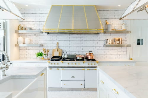 different metal use in kitchen