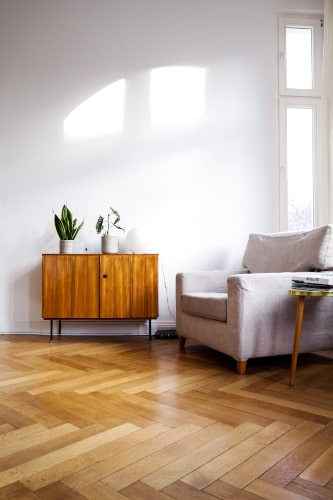 Different Wood Tones with White Paint Colors