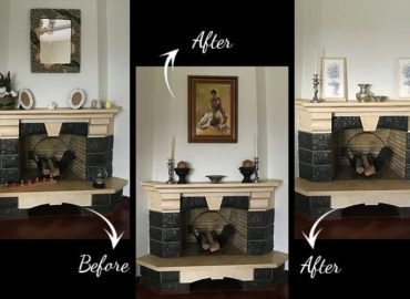 Fireplace Decor Challenge How to Create Formal Decor