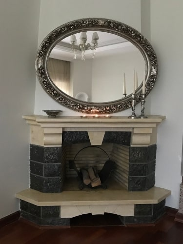 fireplace decorating rules