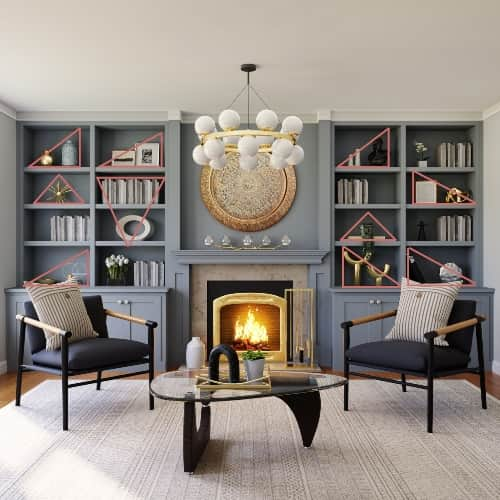 styling tricks for bookcases