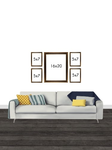 Gallery Wall Frame Sizes
