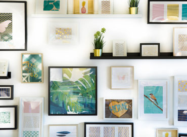 how to create wall layout