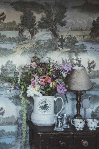 English Country Houses Decor Elements