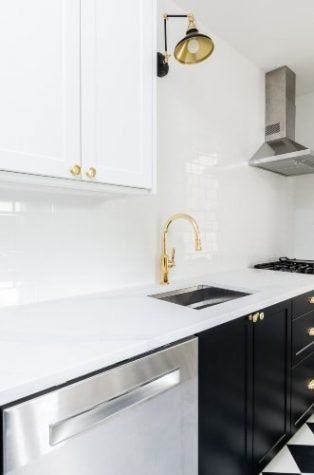 mix and match metals in kitchen